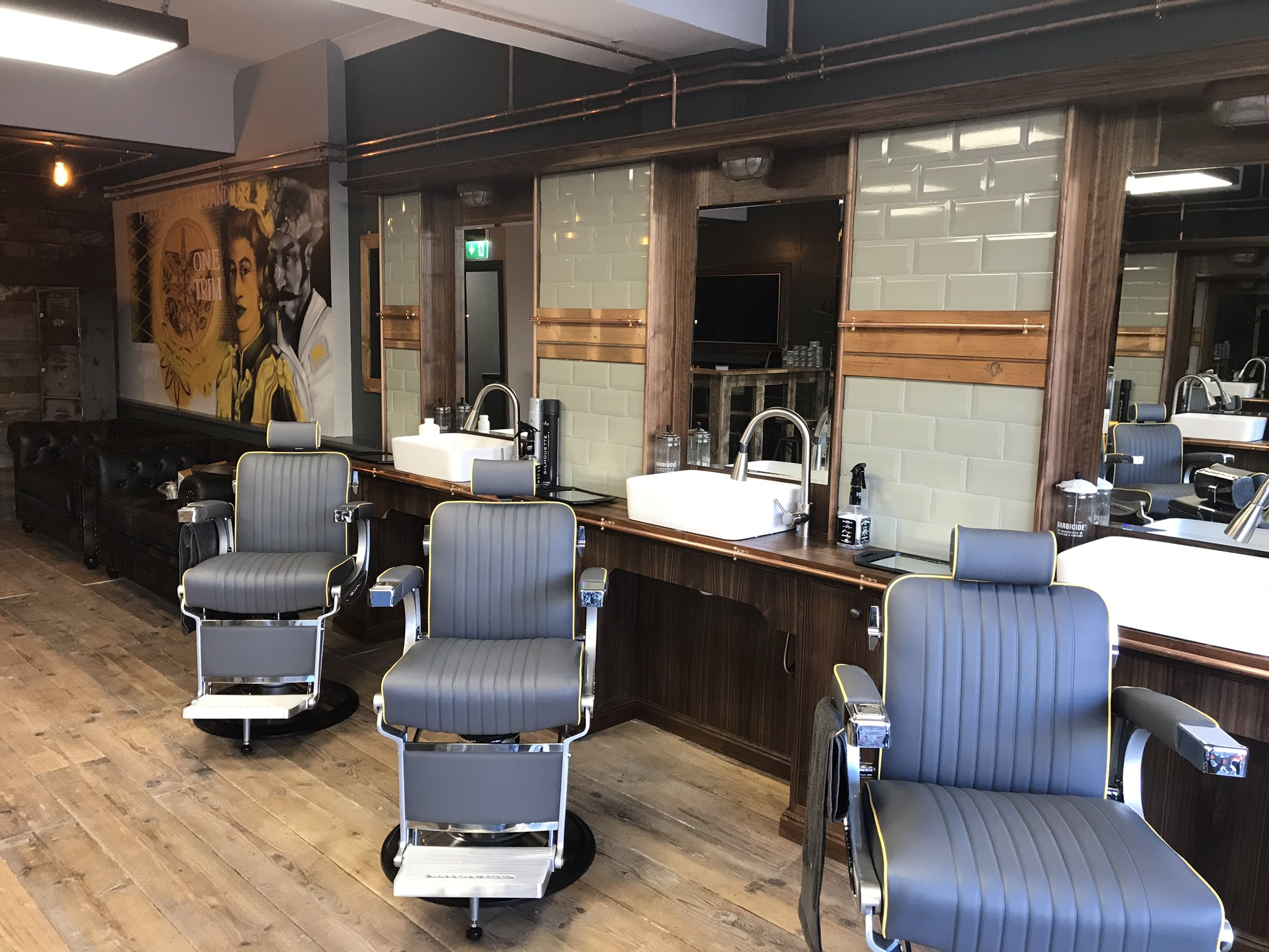 Mr Barbers Franchise reopens