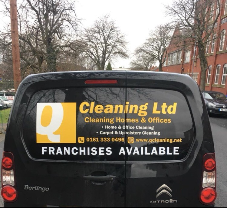 Q Cleaning Van Based Franchise
