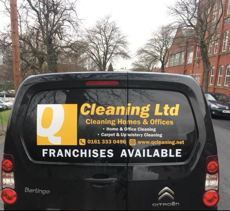 Q Cleaning Van Based Franchise