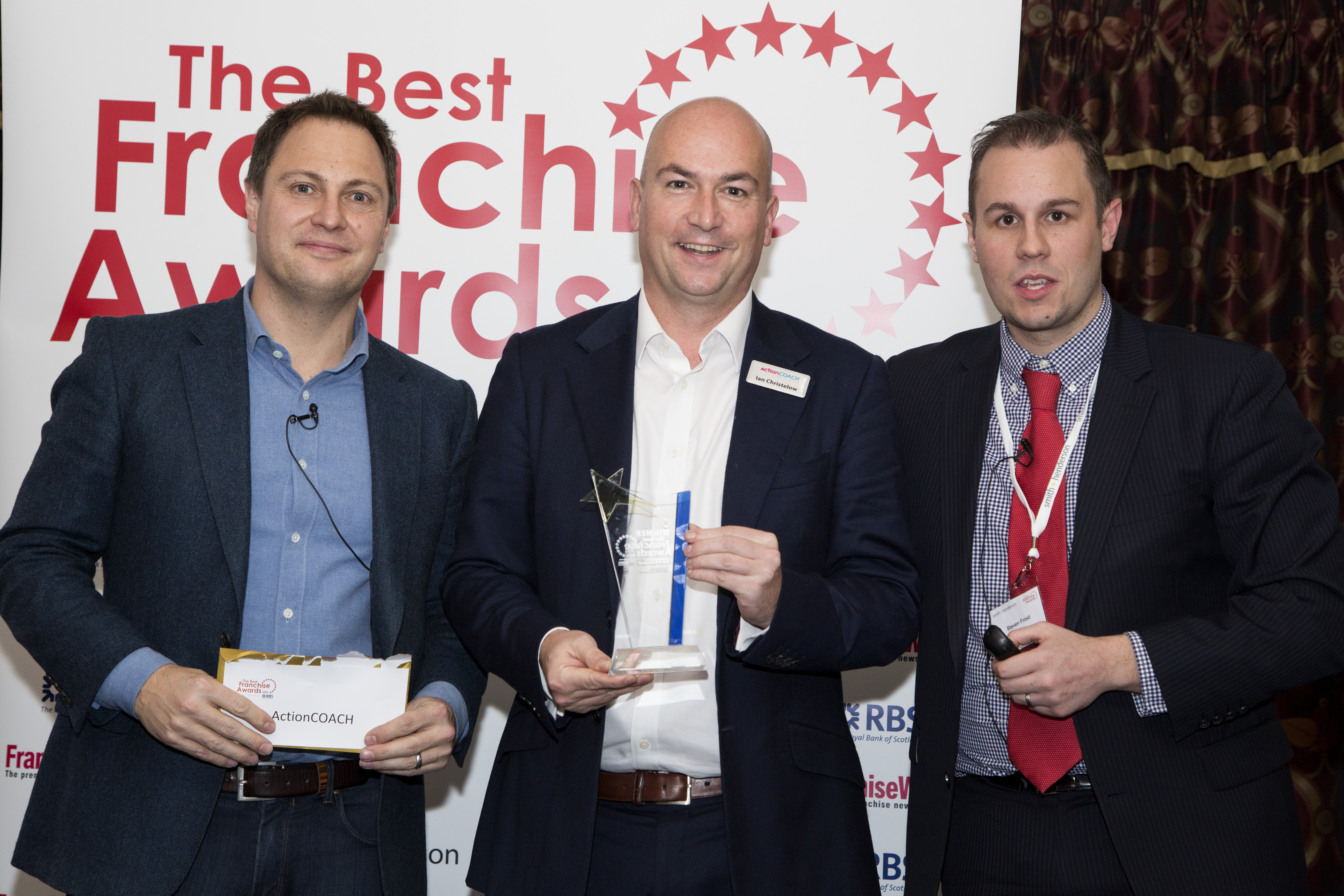 ActionCOACH Franchise Awards winners