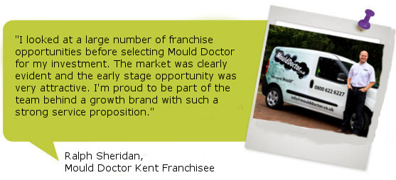 Mould Doctor Franchisee Testimonial