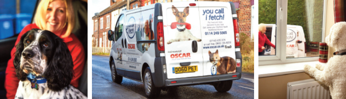 Oscar Pet Food Van Franchise