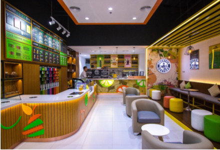 Smoothie Factory Franchise Store