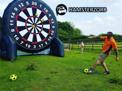Hamsterzorb football darts