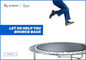 Auditel help you bounce back