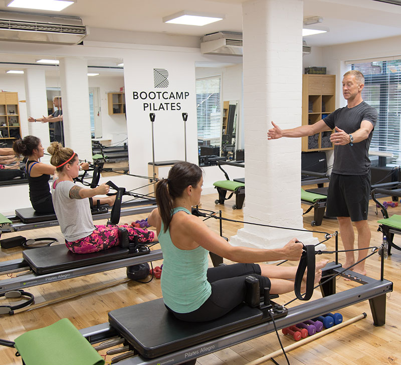 Bootcamp Pilates fitness classes