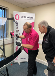 Optic-Kleer franchisee training