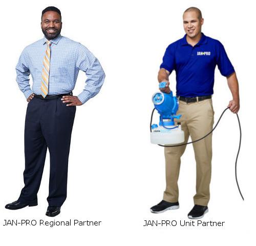 JAN-PRO Regional Partner and JAN-PRO Unit Partner