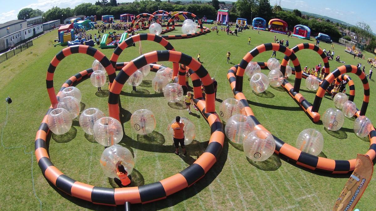 Bubble Zorb arena