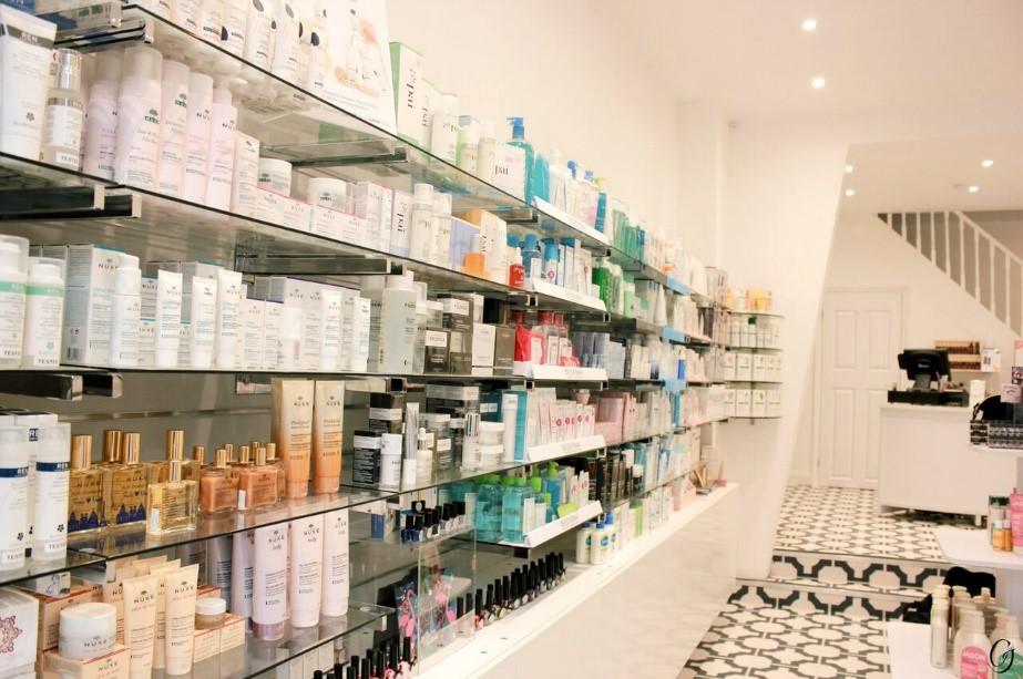 Inside Make Me Feel London store