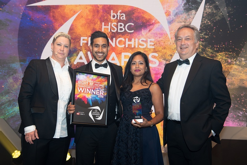 Right at Home UK bfa Winners