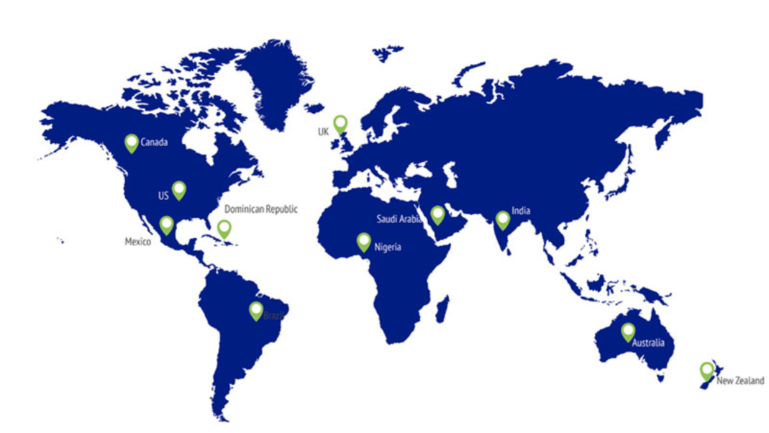 Jan-Pro Commercial Cleaning Franchise Around the world
