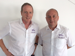 Mark Abbott and John Graham