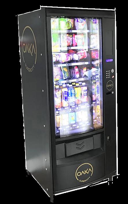 Oaka Vending machine franchise concept
