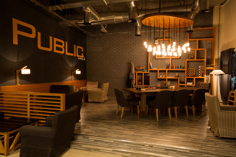 Public Cafe Franchise Layout
