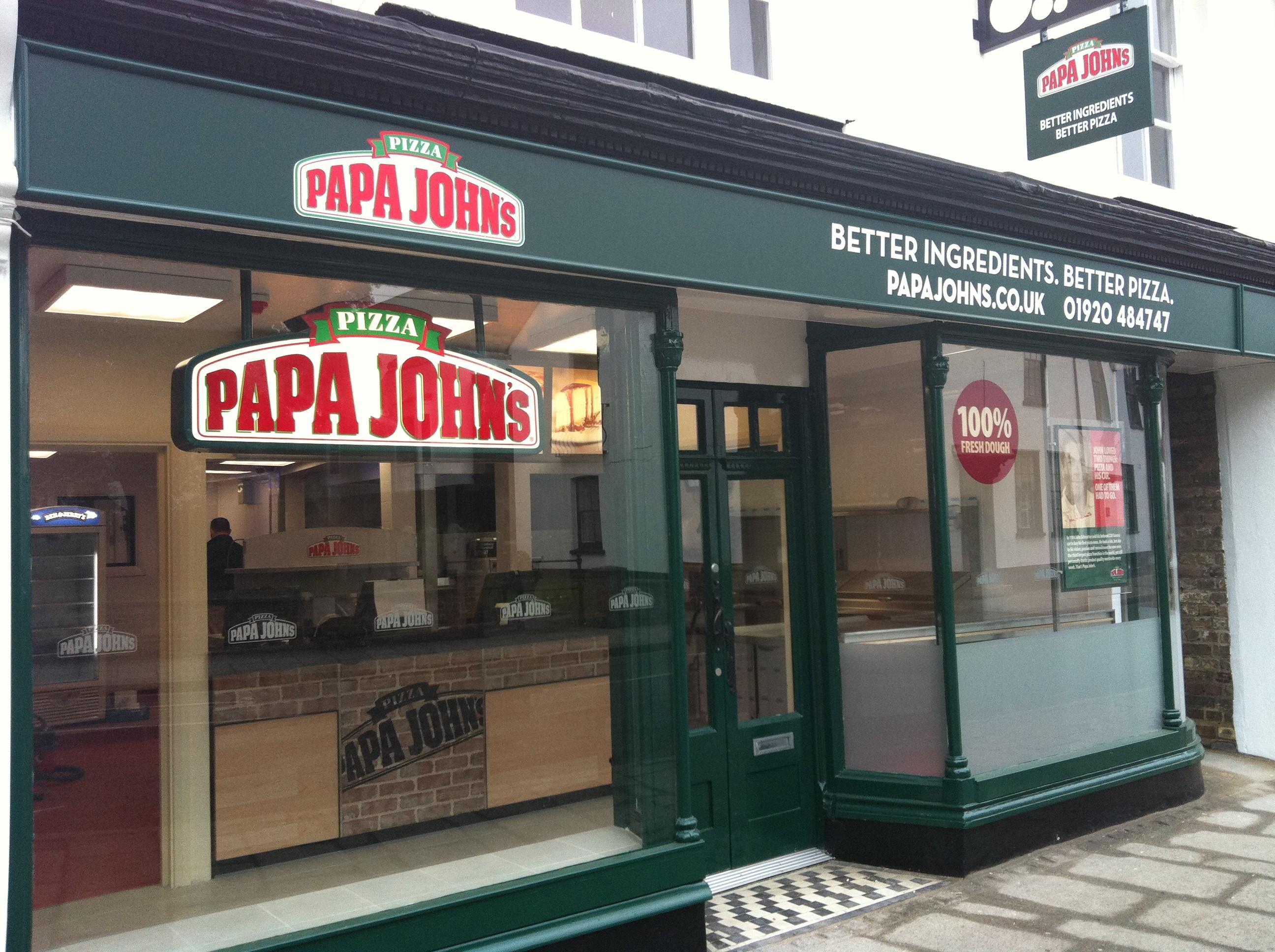 Papa John's Franchise Territory