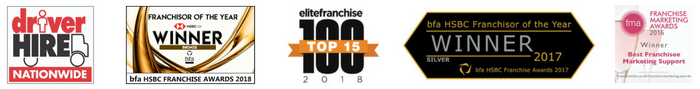 Driver Hire Franchise awards