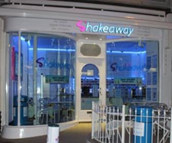 Shakeaway Franchise front store