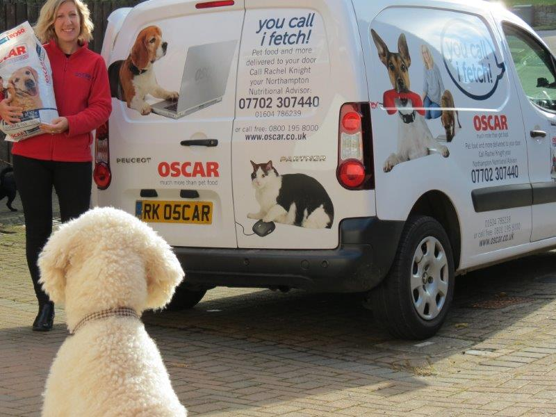 Oscar Pet Food Van Based Franchise